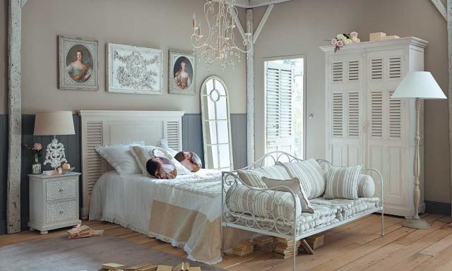 100 ideas para decorar tu dormitorio vintage mueblespacio Recamaras estilo vintage