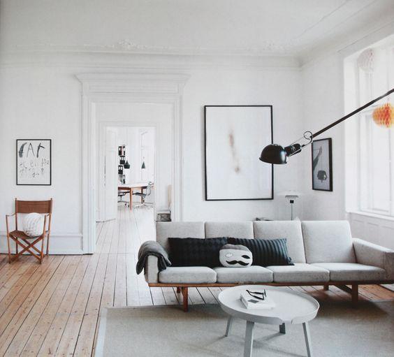 Salones n rdicos vs salones vintage - Como decorar un piso antiguo ...