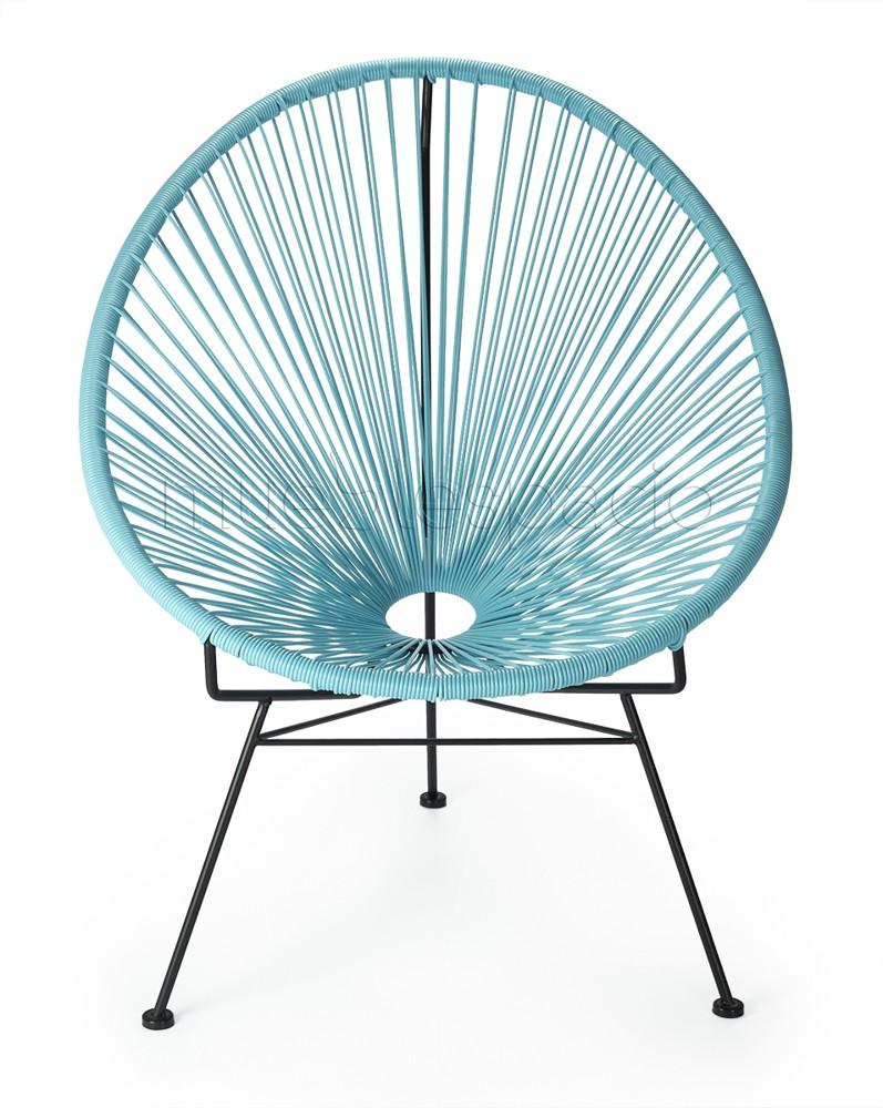 comprar colecciones silla acapulco azul de dise o