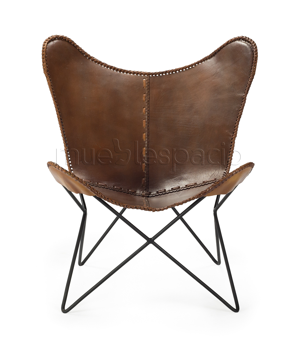 Silla butterfly chair de dise o estilo vintage industrial for Sillas estilo industrial baratas