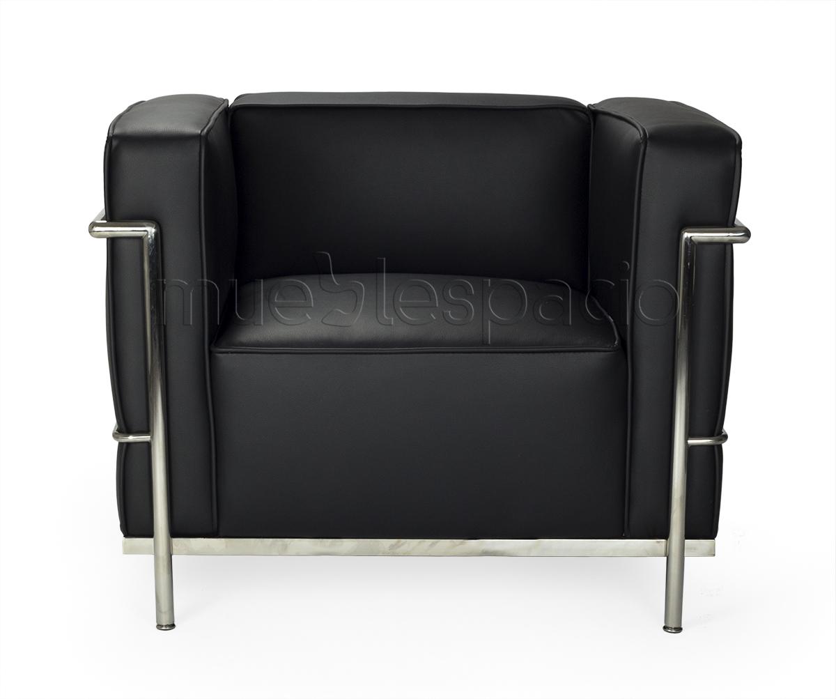 Comprar sofa gran lecor 1 plaza colores negro ref a621a for Sofa gran confort precios