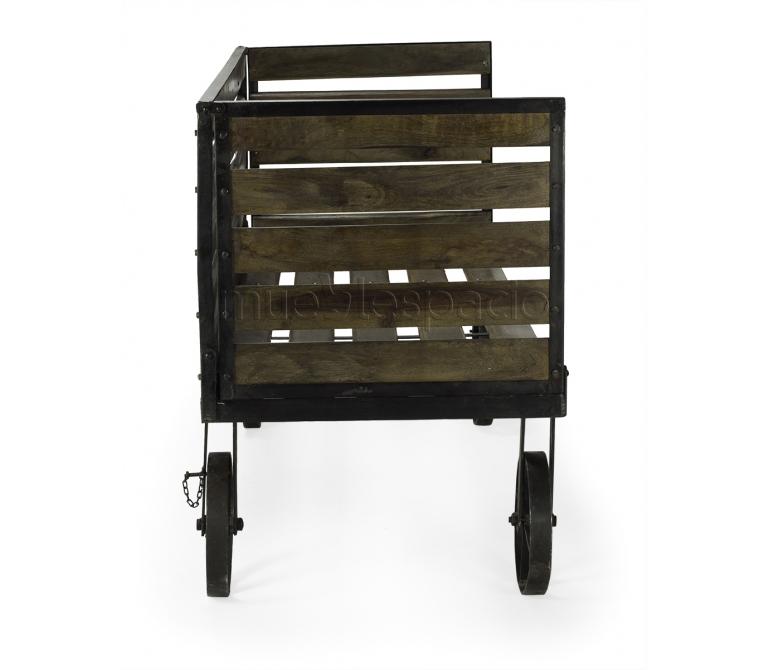 Sofa vintage con ruedas mueblespacio for Sofas originales online