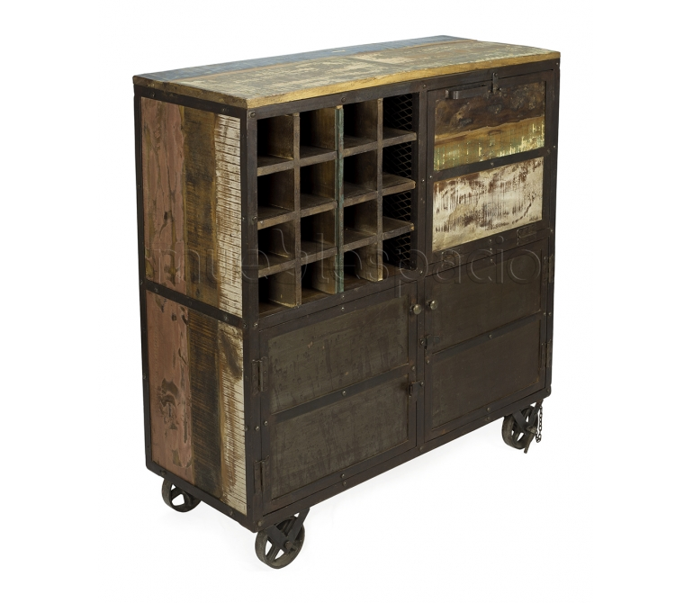 Mueble Botellero Martorell De Dise O Estilo Vintage