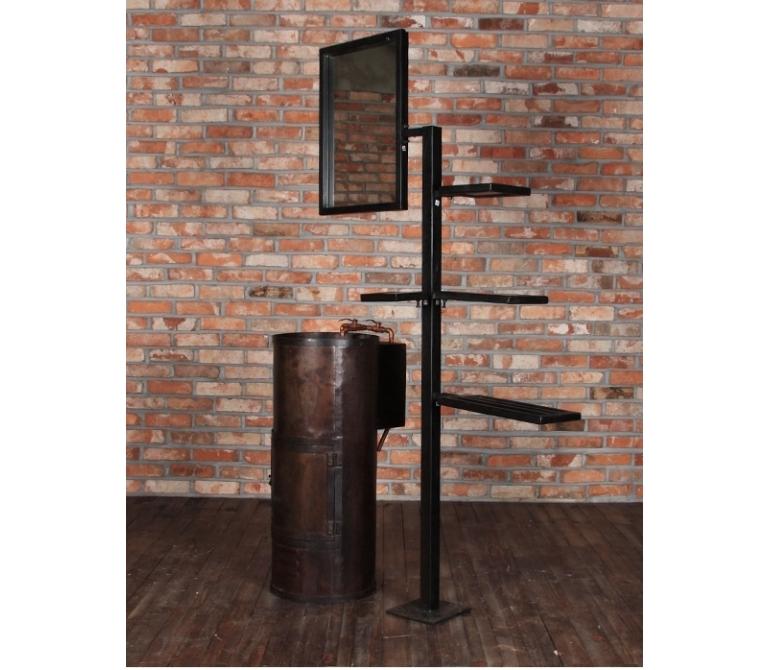 Lavabo industrial de dise o estilo vintage industrial for Lavabo industrial