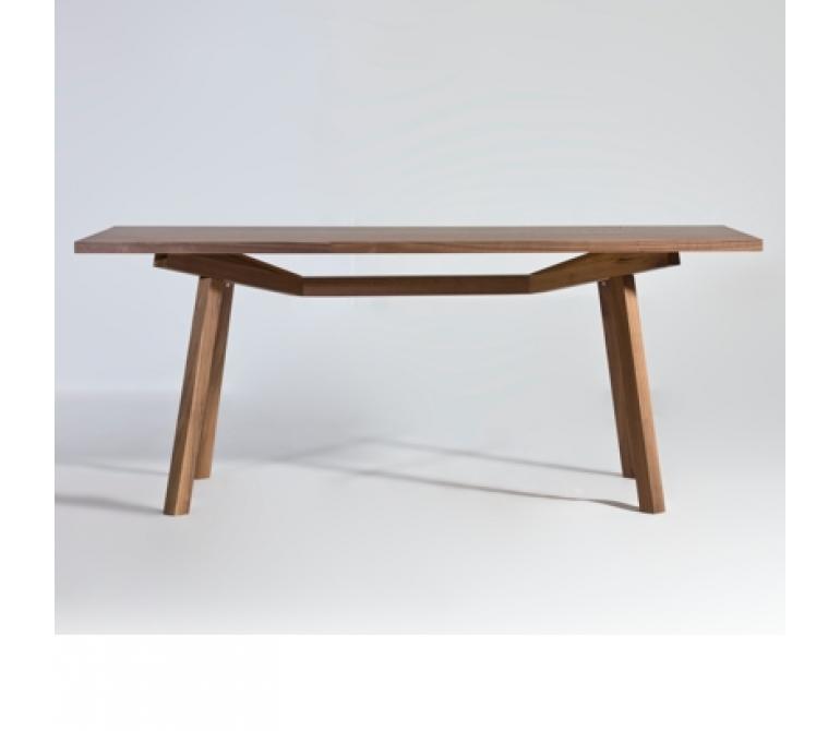 Mesa dix madera de dise o estilo vintage industrial - Mesa madera diseno ...