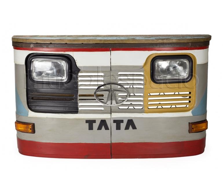 Barra de bar vintage camion con luces mueblespacio for Barra bar vintage
