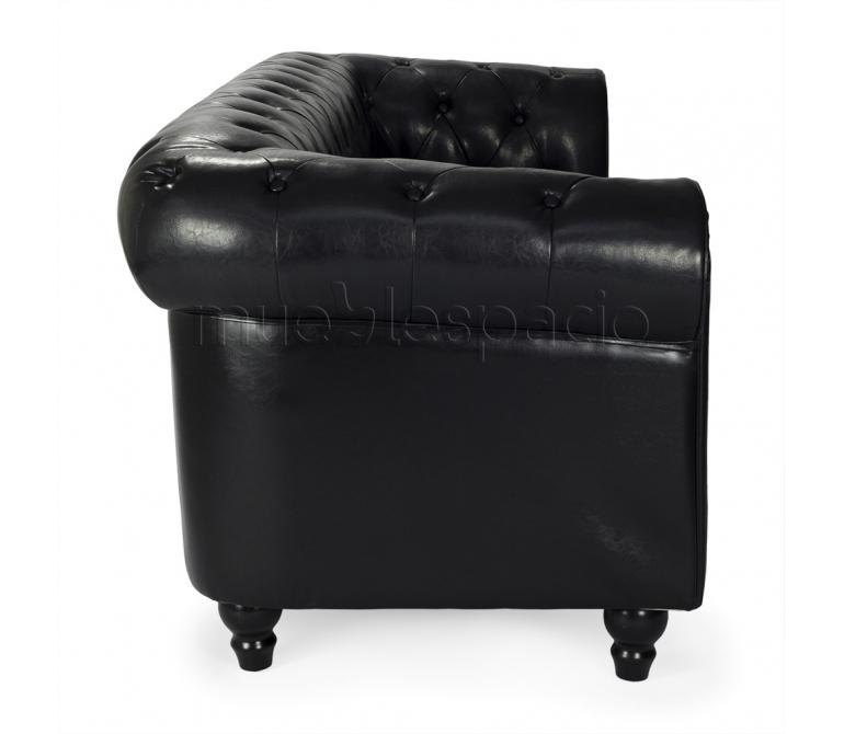 Sofa chester 3 plazas piel de dise o estilo vintage for Comprar sofa chester barato