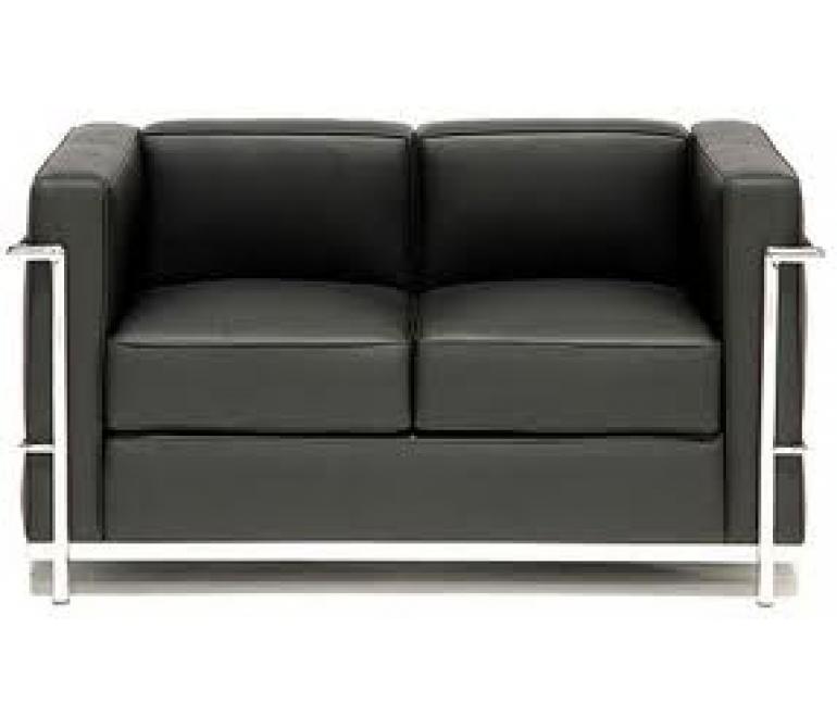 Comprar sof lecor 2 plazas piel colores blanco ref a6210b - Sofa piel blanco ...
