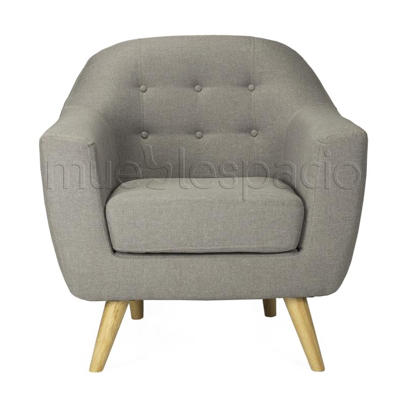 Sofa nordico 1 plaza instalaciones mueblespacio - Sillon nordico ...