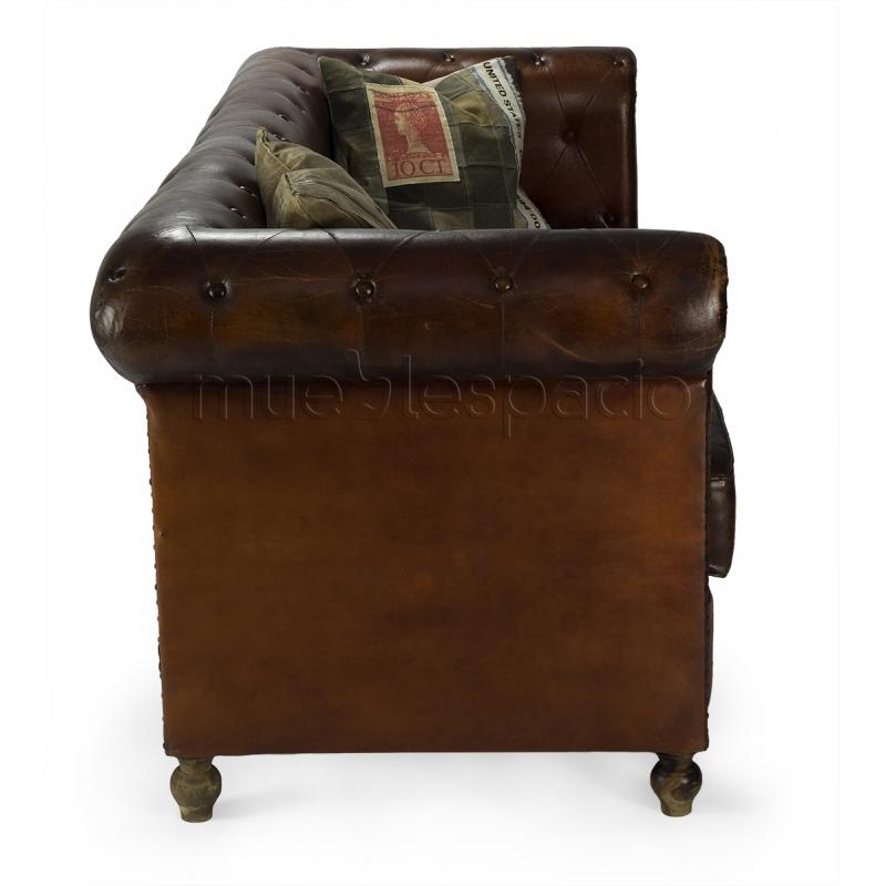 Comprar sofas sof chester 3 plazas cuero de dise o for Comprar sofa chester barato