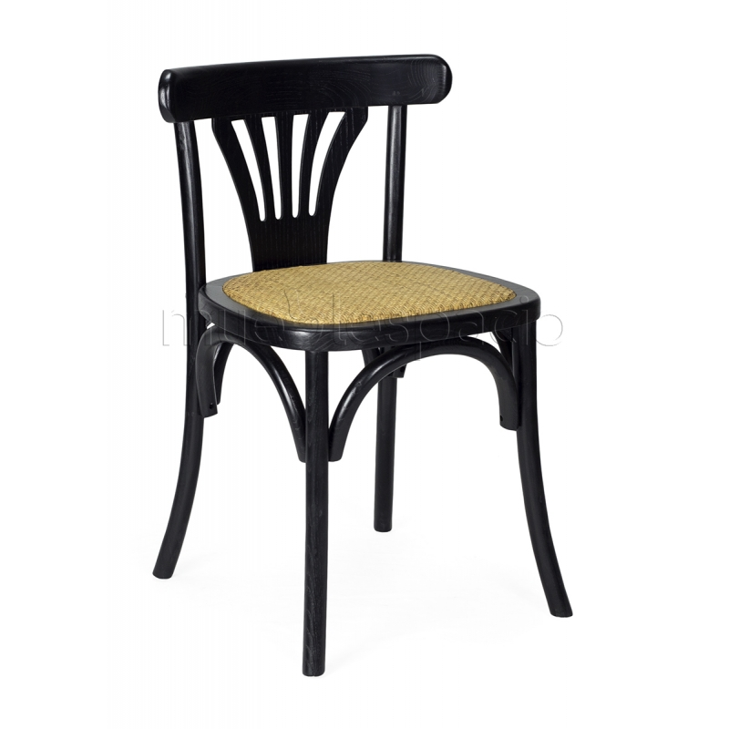 silla madera thonet de michael thonet para bares restaurantes mueblespacio. Black Bedroom Furniture Sets. Home Design Ideas