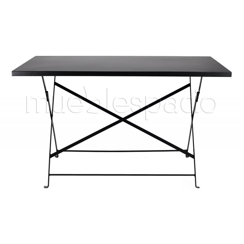 Mesa estilo bistro plegable 120 de dise o estilo vintage for Diseno de mesas plegables