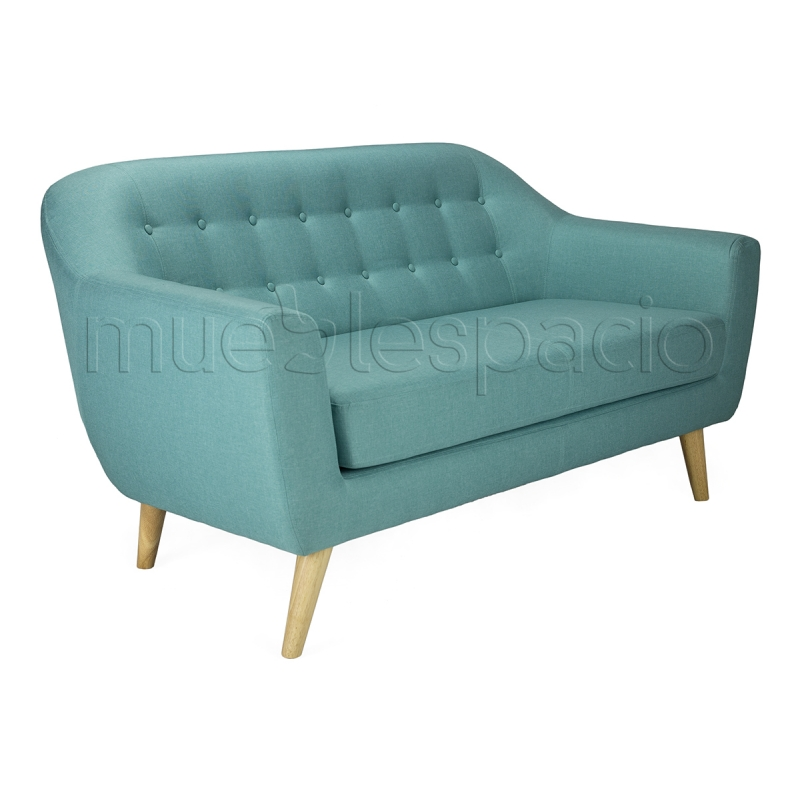 Sofa nordico 2 plazas mueblespacio for Sofas de 4 plazas baratos
