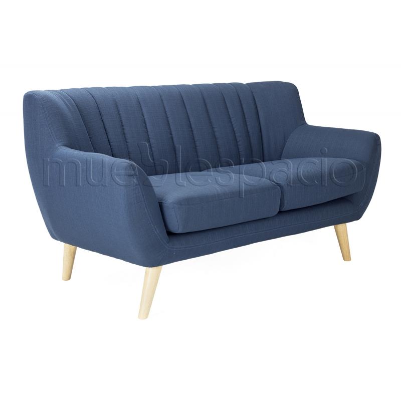 Sofa nordico escandinavo de 2 plazas mueblespacio - Sillon nordico ...