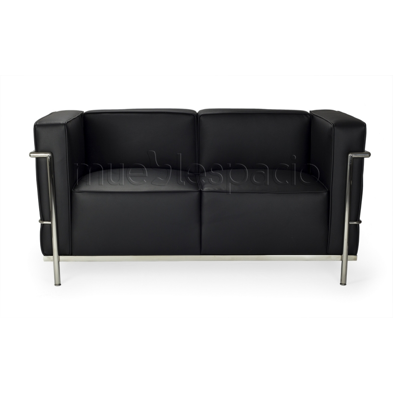 Sofa gran decor de lecorbusier lc3 mueblespacio for Sofa gran confort precios