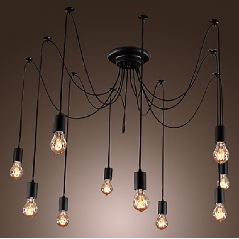L mpara vintage de techo tipo ara a mueblespacio - Tipos de lamparas de techo ...