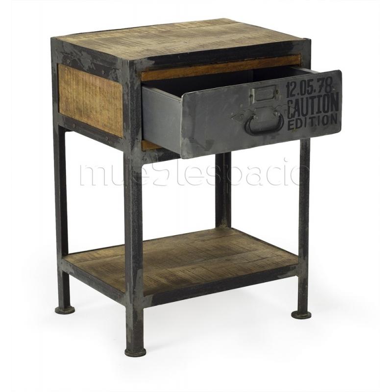 Comprar mesas mesita de noche de dise o mueblespacio - Mesitas de noche de diseno ...