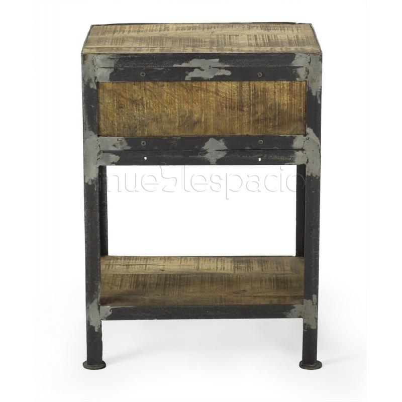 Mesa vintage mueblespacio - Mesitas de noche suspendidas ...