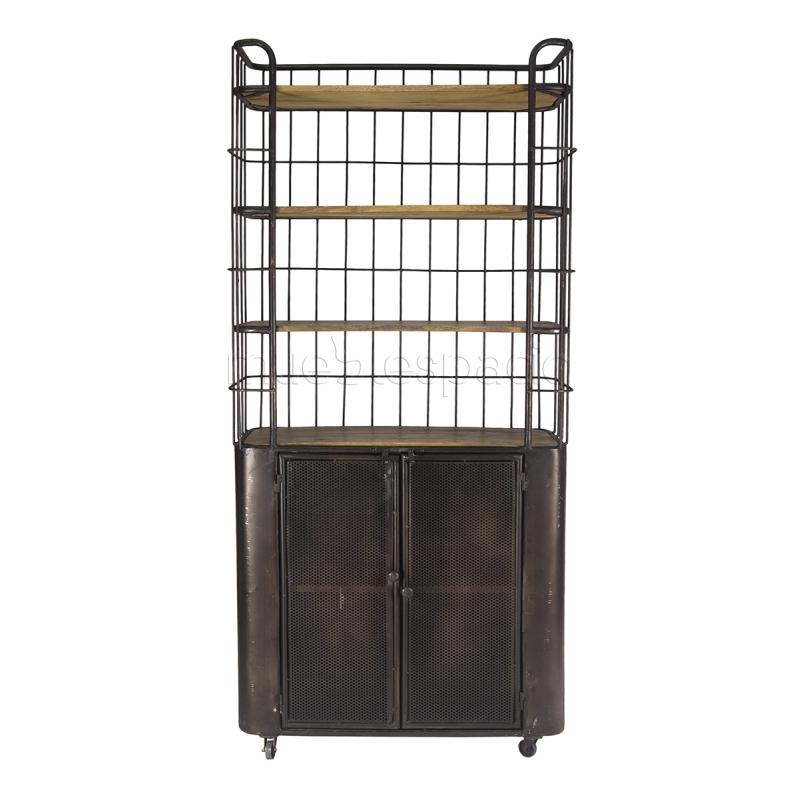 Mueble rack de dise o estilo vintage industrial for Muebles estilo industrial baratos