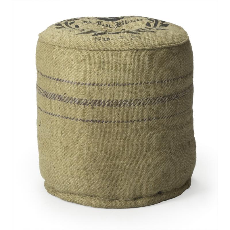 Puff vintage saco cuadrado mueblespacio for Puff cuadrados