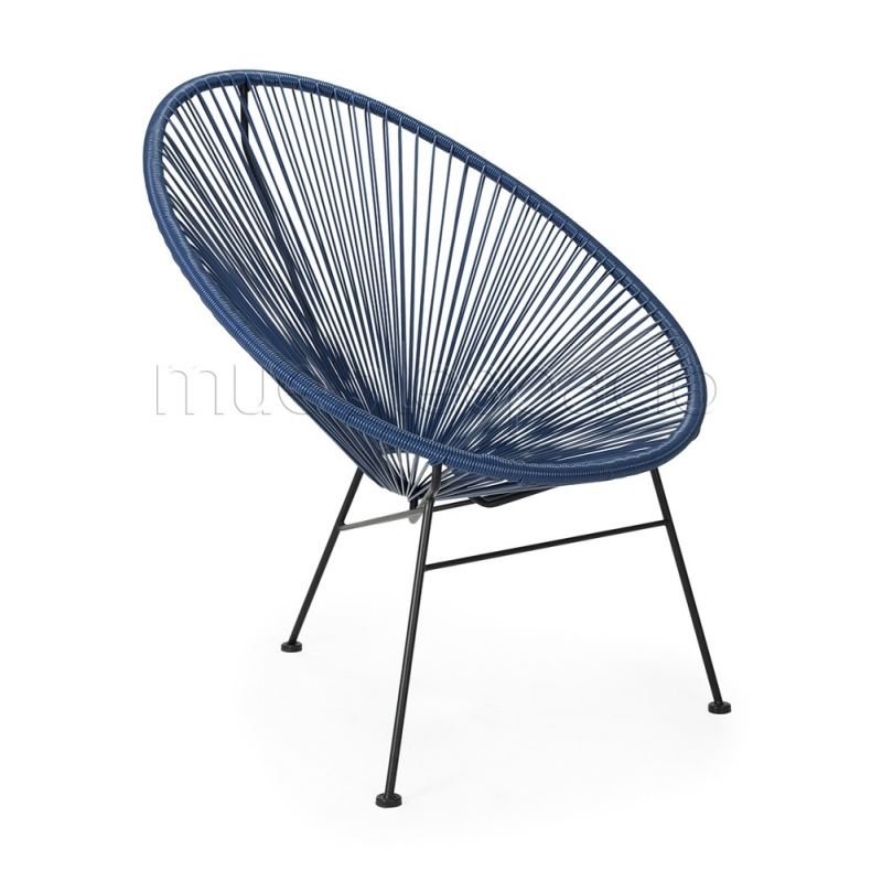 Mueblespacio comprar silla acapulco navy de dise o online for Sillas online diseno