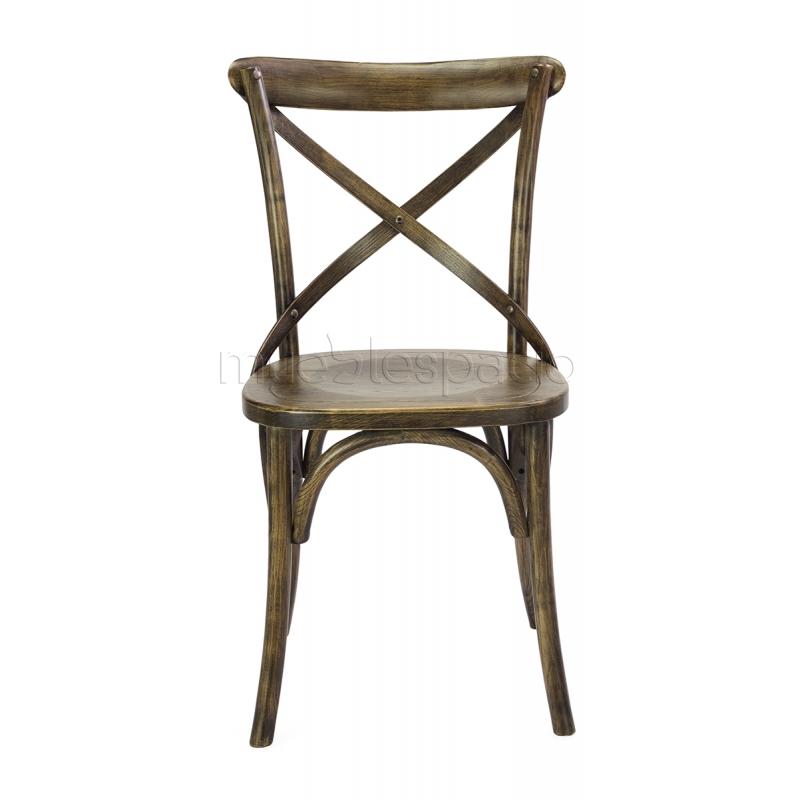 Comprar sillas silla cross asiento madera de dise o for Sillas madera