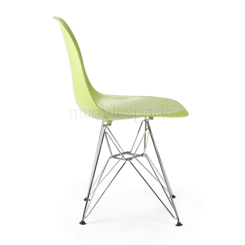 Mueblespacio Comprar Silla Plastic Acero Verde Abs De