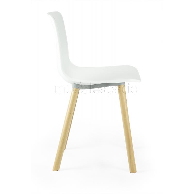 silla plastic cuadrat de dise o estilo vintage industrial