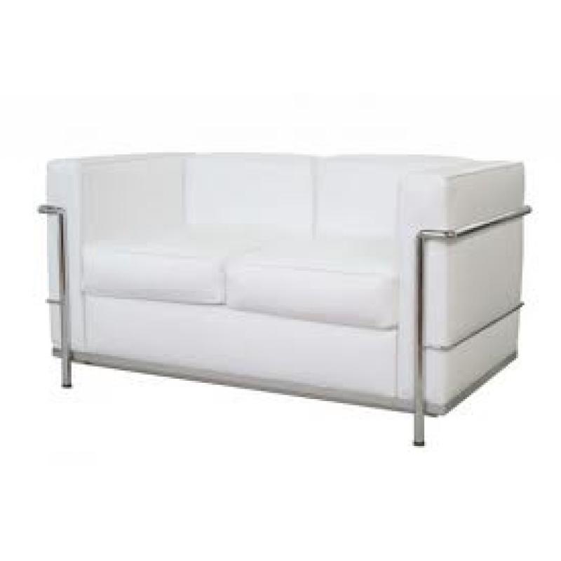 Sof lecor 2 plazas piel de dise o estilo vintage industrial for Sofa 7 plazas piel