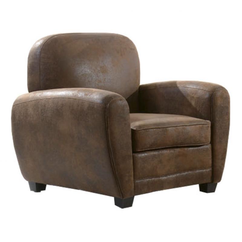 Sofa vintage microgamuza mueblespacio for Sillon chester barato
