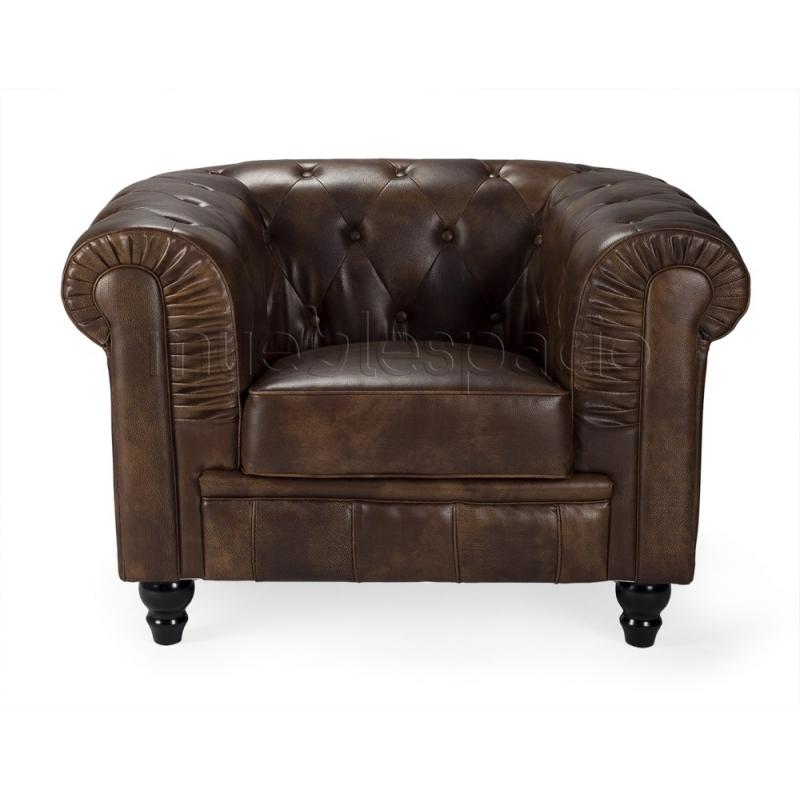 Sof chester mueblespacio - Sofa chester piel ...
