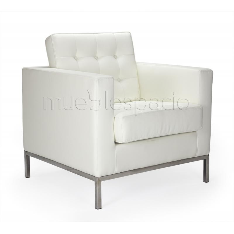 Sofa floren 1 plaza piel de dise o estilo vintage industrial for Sillones de 1 plaza baratos