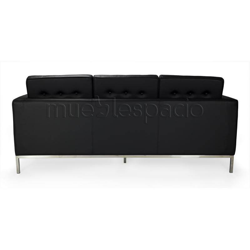 Comprar sofa floren 3 plazas piel colores blanco ref a6666 - Sofa de piel blanco ...