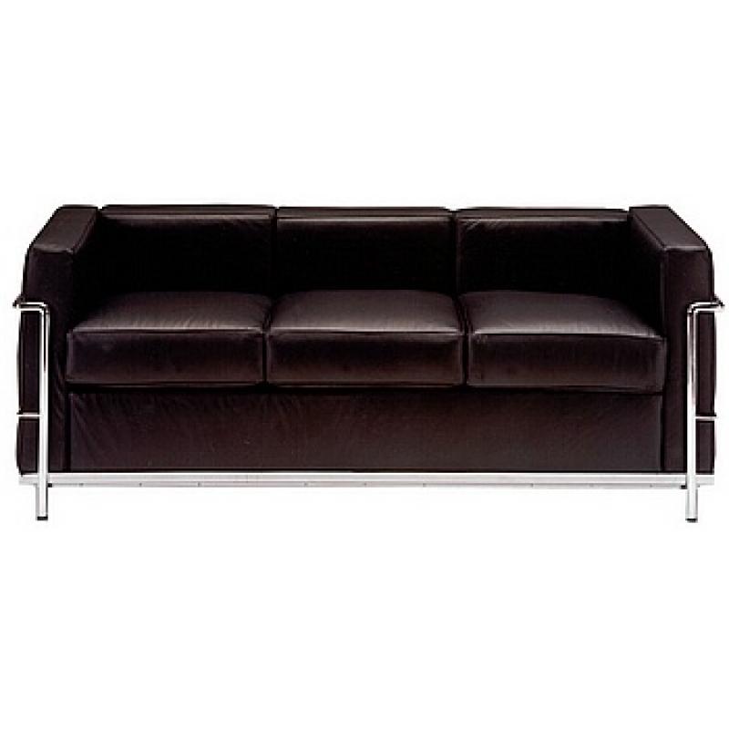 Comprar sof lecor 3 plazas piel colores blanco ref a6211 - Sofa de piel blanco ...