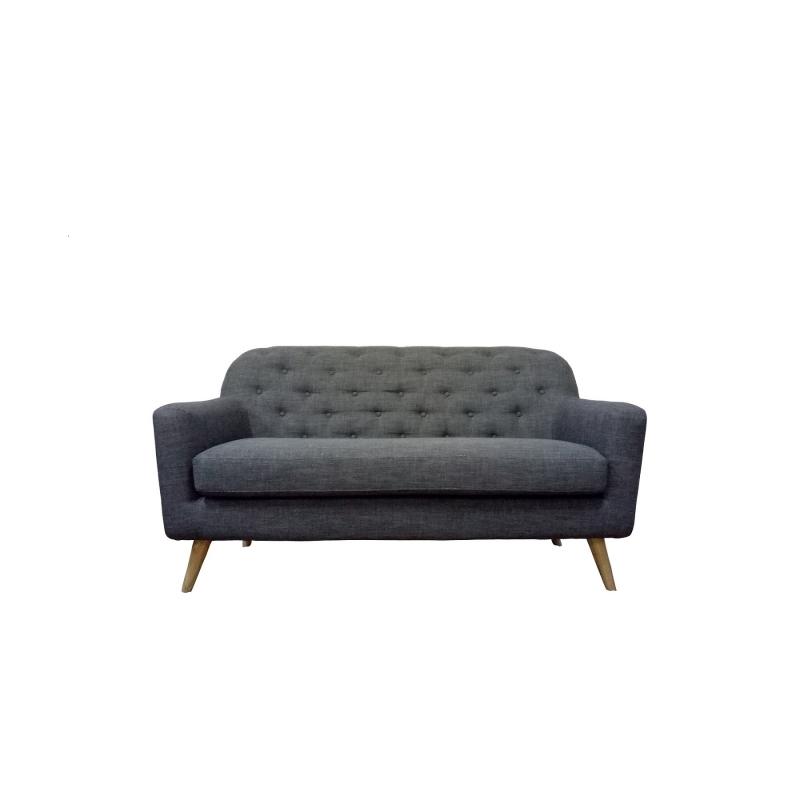 Sofa nordico dos plazas | Mueblespacio