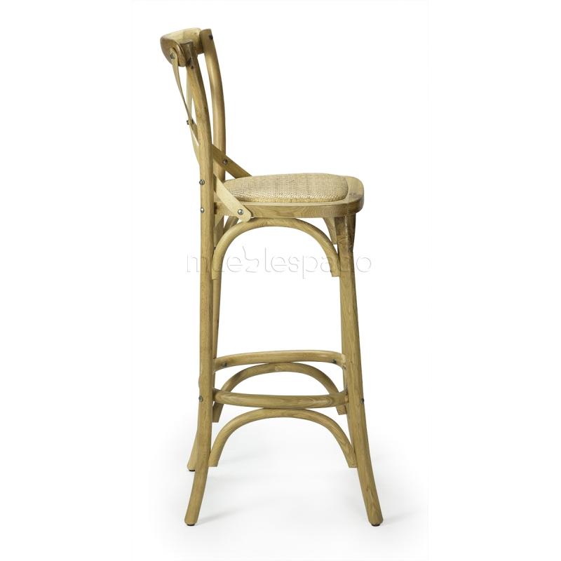Comprar taburetes taburete cross de dise o mueblespacio - Taburetes online ...