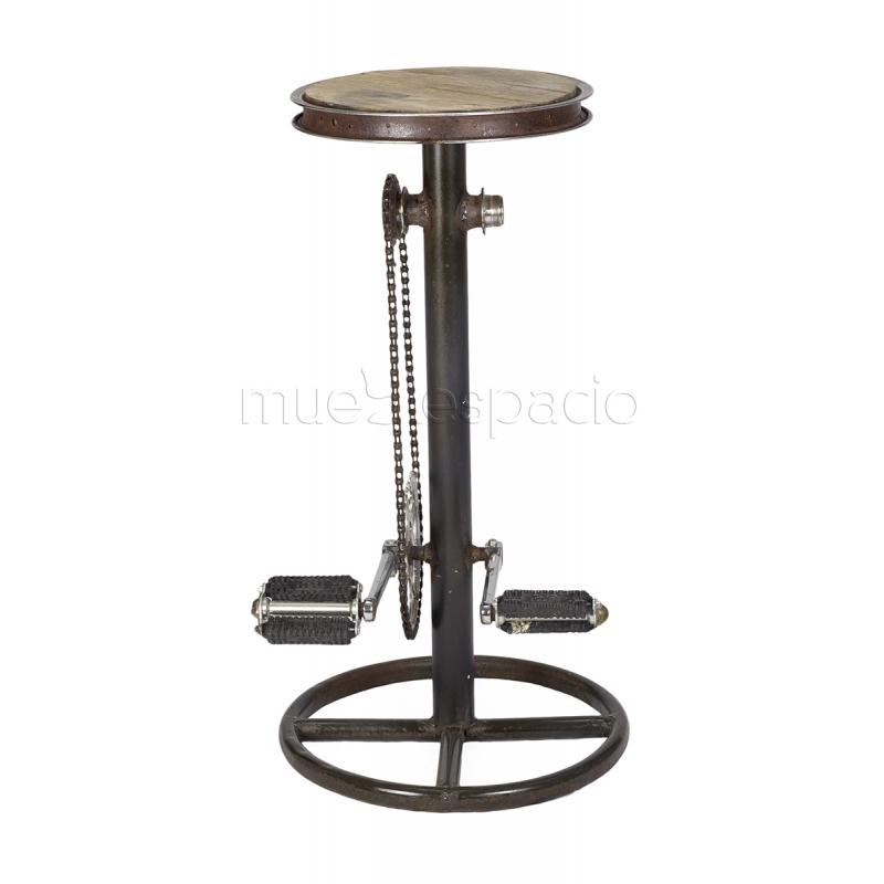 Taburete vintage pedales mueblespacio - Taburetes online ...