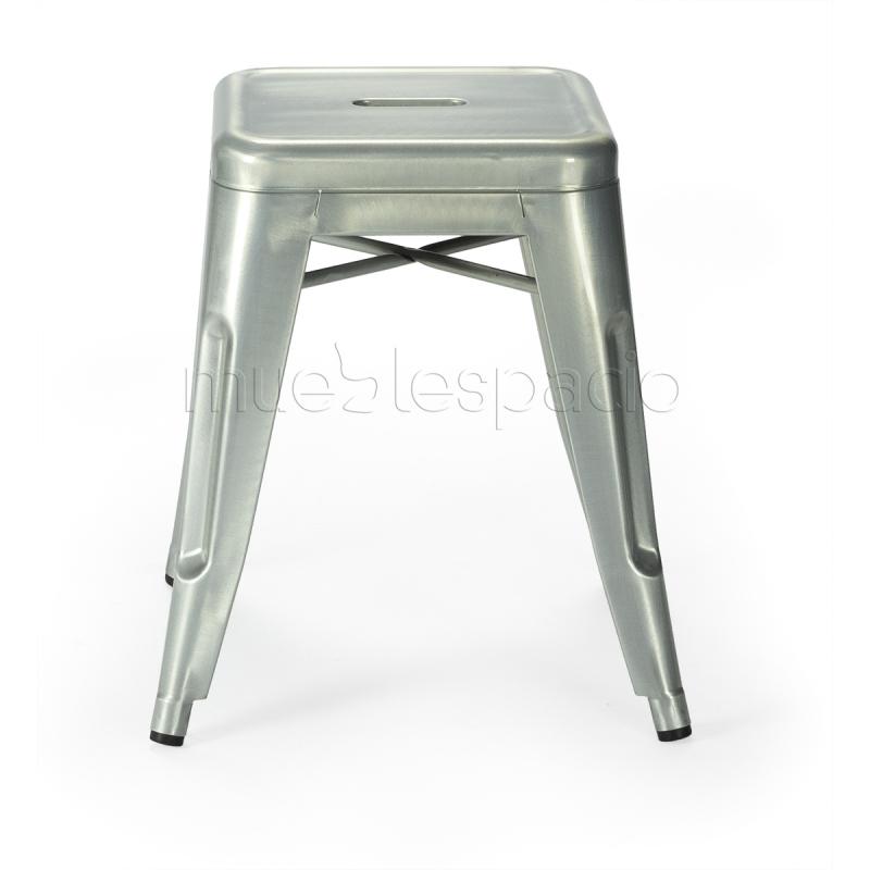 Mueblespacio comprar taburete s galvanizado de dise o online - Taburetes online ...